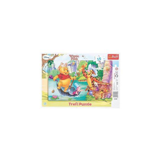 Trefl Rahmenpuzzle 15 Teile - Winnie the Pooh