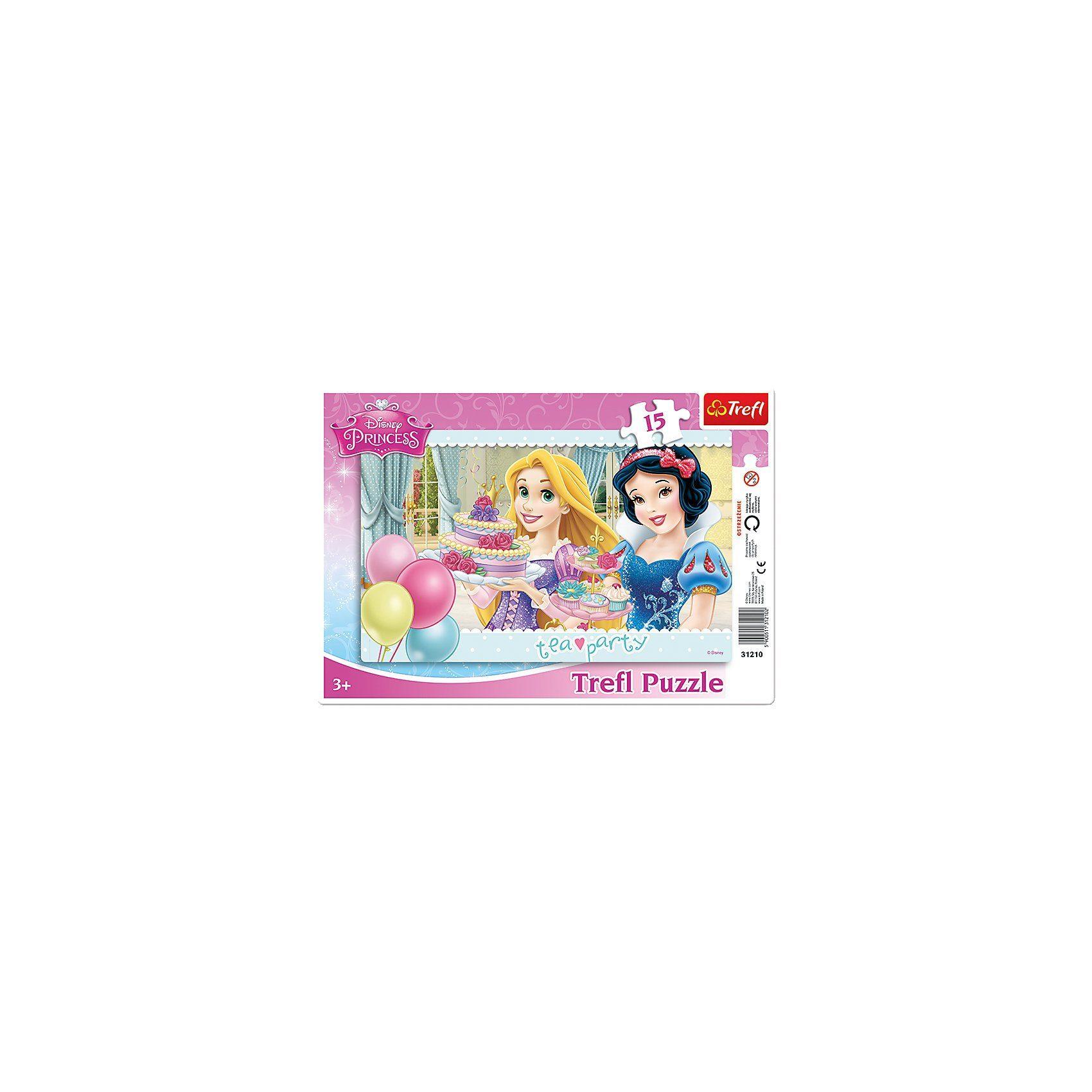 Trefl Rahmenpuzzle 15 Teile - Disney Princess
