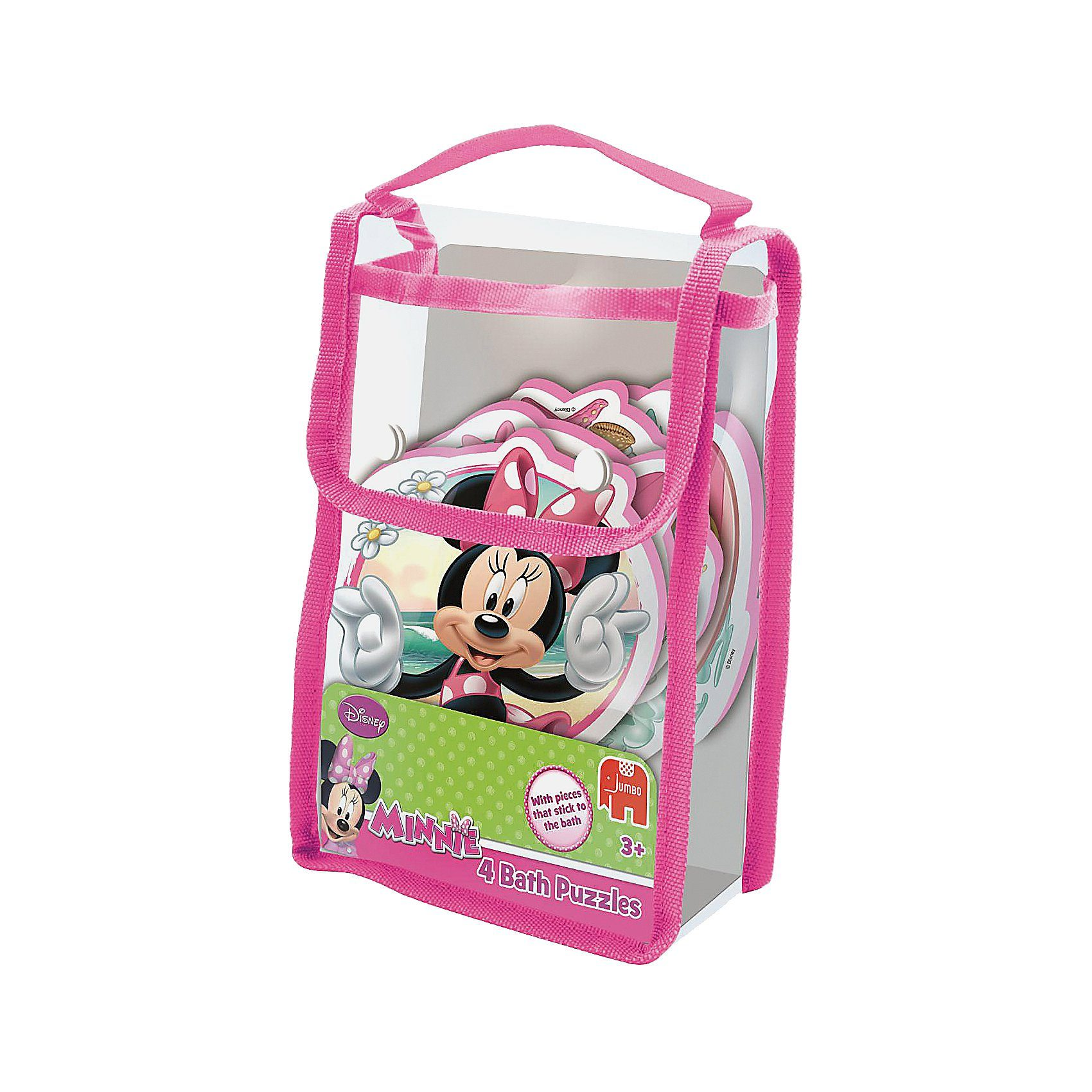 Jumbo Disney Badepuzzle - Minnie Mouse