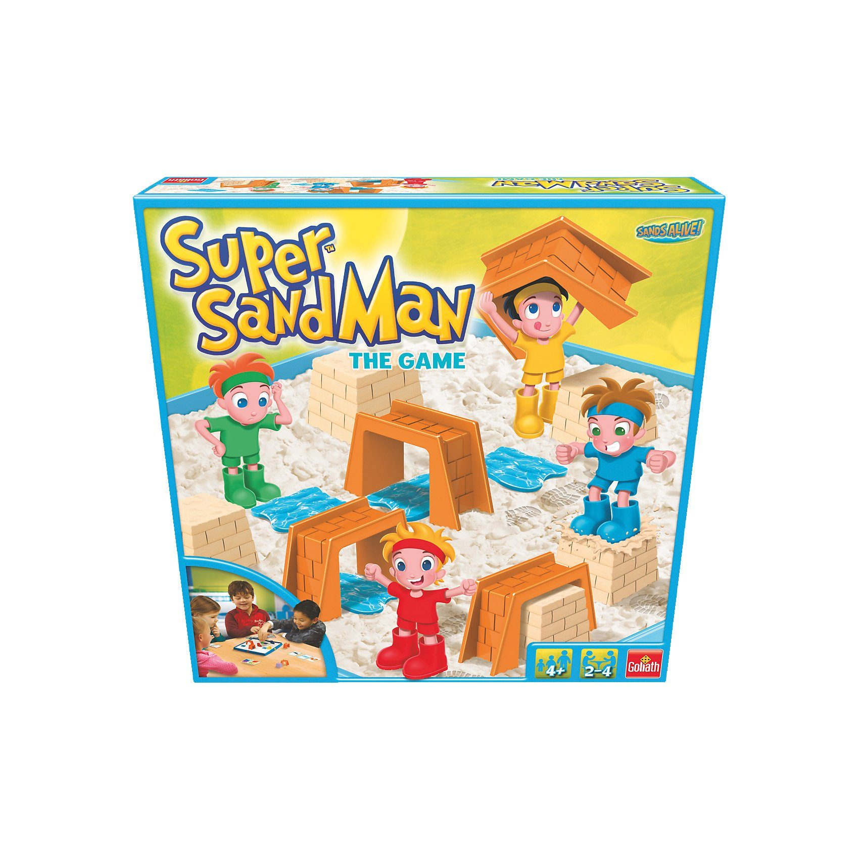 Goliath Super Sand Man - The Game