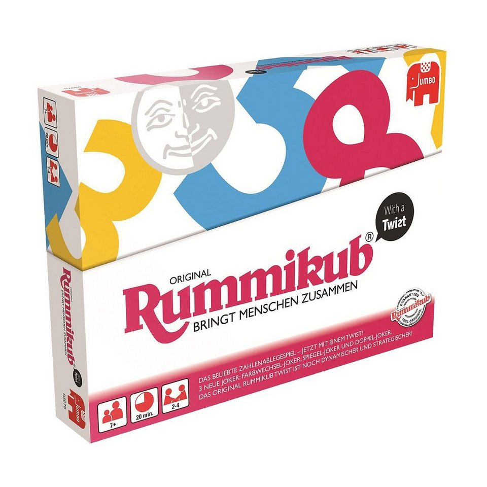 Jumbo Rummikub with a Twist