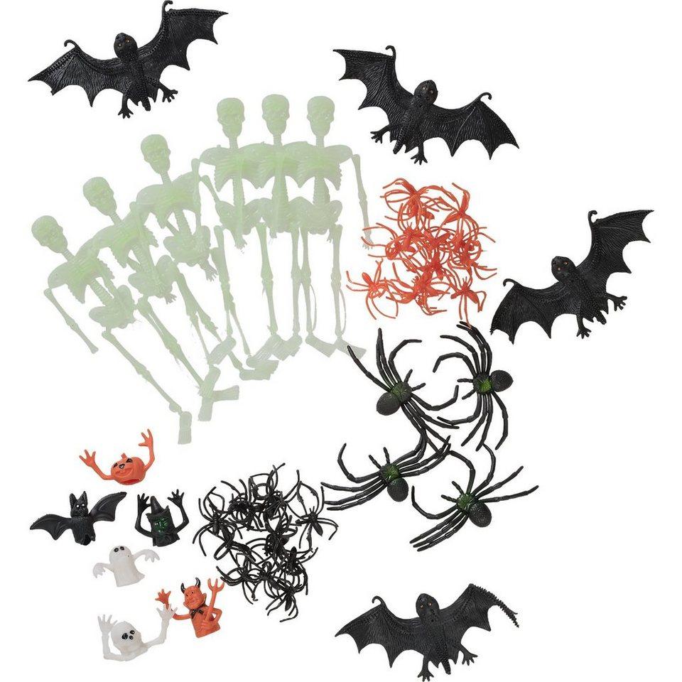 Amscan Spinnen & Co. Halloween Family Friendly, 48-tlg.