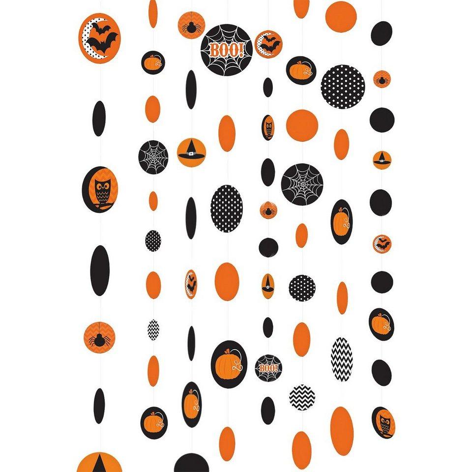 Amscan Hängedekoration Halloween Family Friendly, 1,8 m, 8 Stück