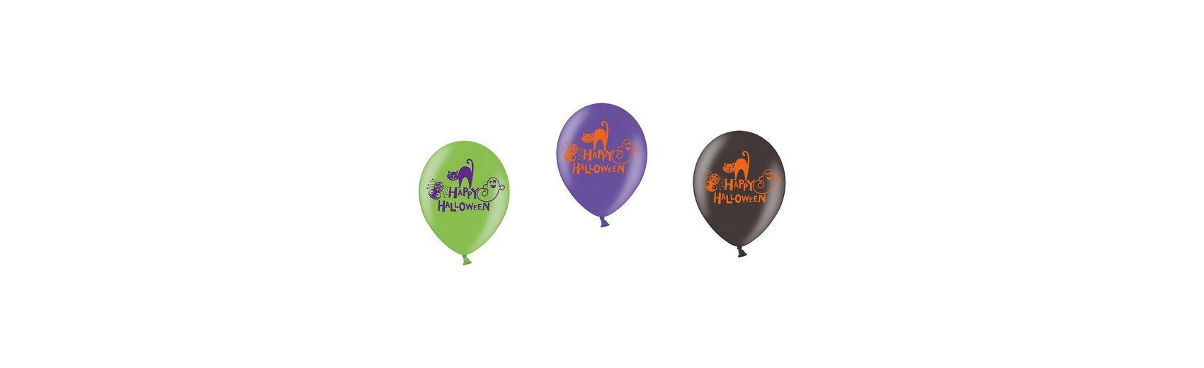 Amscan Luftballons Halloween Family Friendly, 6 Stück