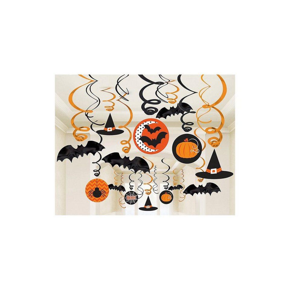 Amscan Hängedekoration Hexen Halloween Family Friendly, 30-tlg.