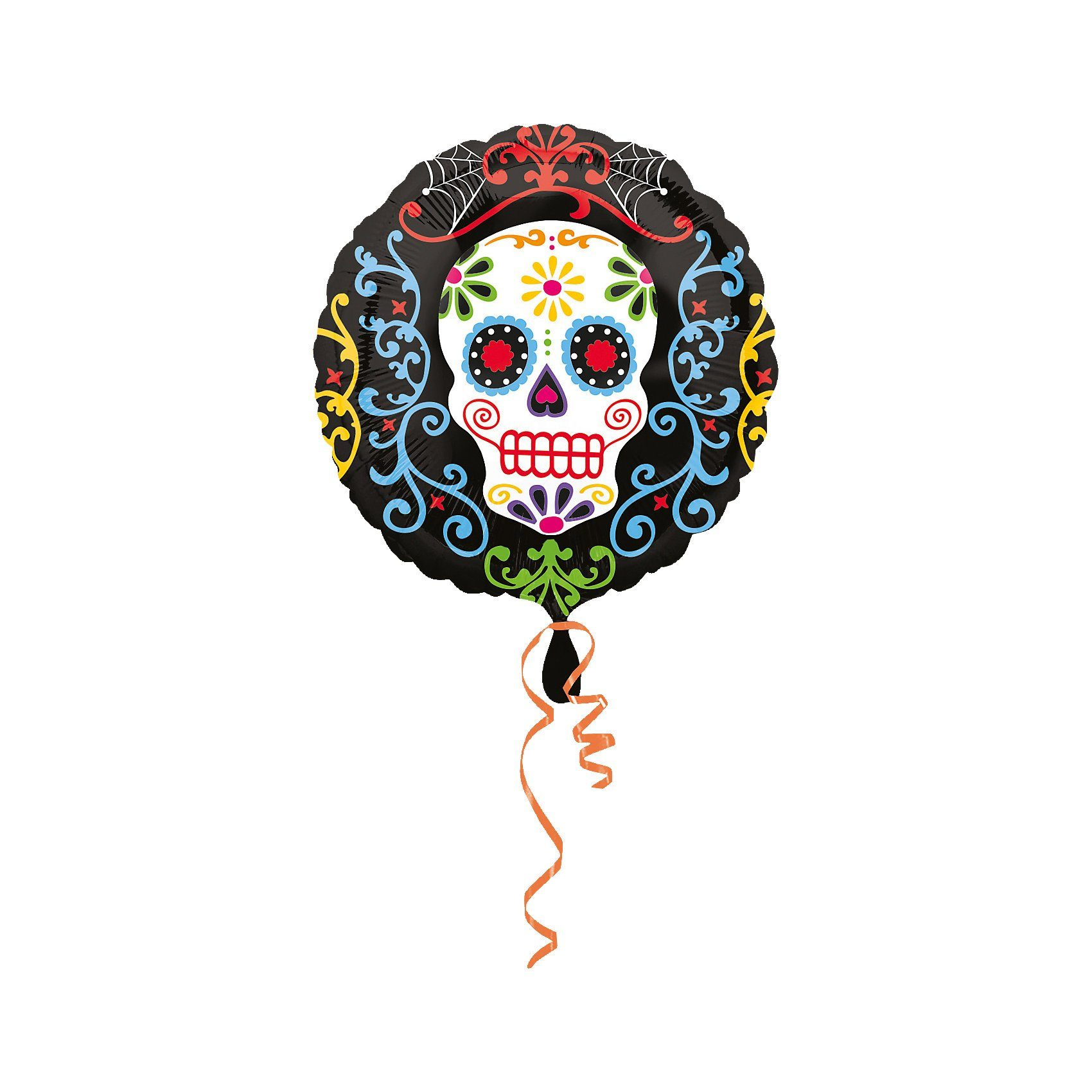 Amscan Folienballon Halloween Day of the Dead, Standard