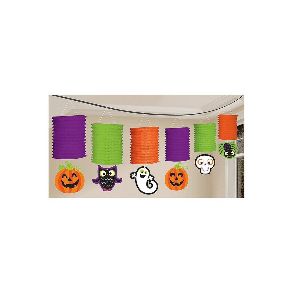 Amscan Lampiongirlande Halloween Family Friendly, 3,65 m