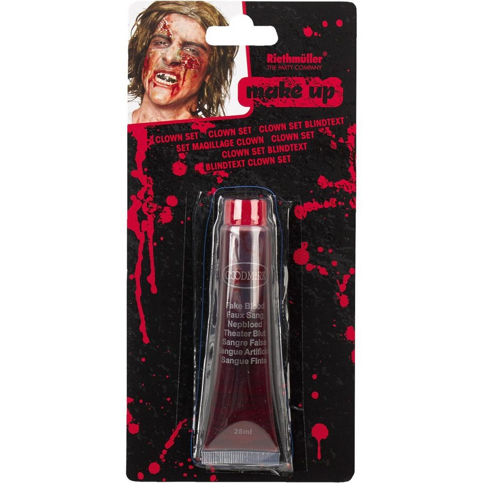 Amscan Make up Blut Halloween Classic