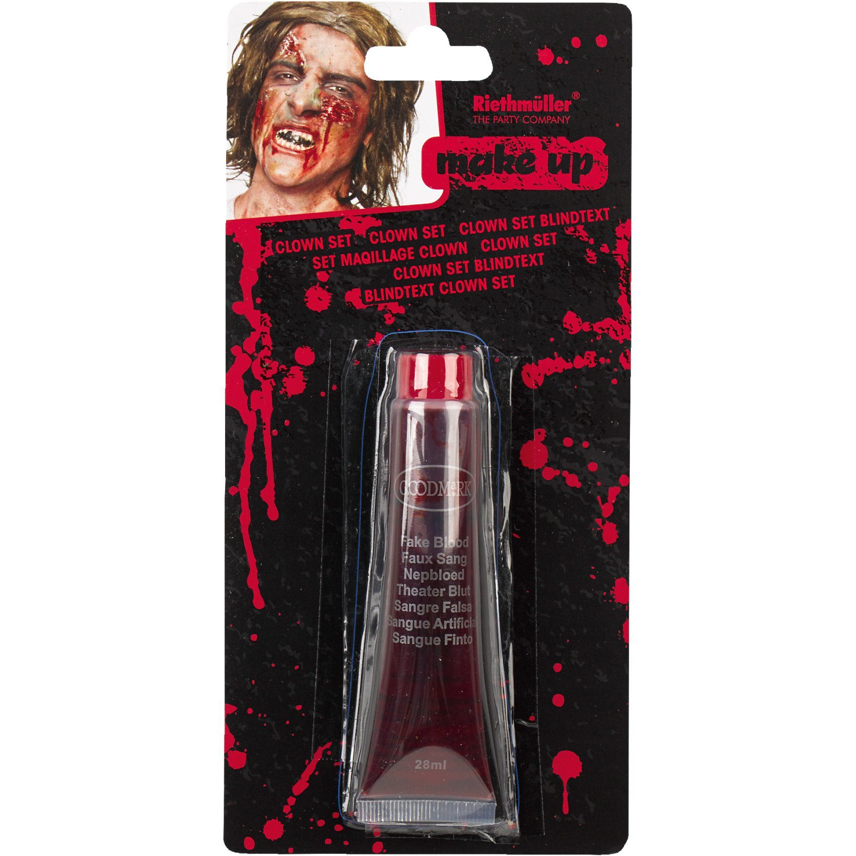 Amscan Make up Blut Halloween Classic