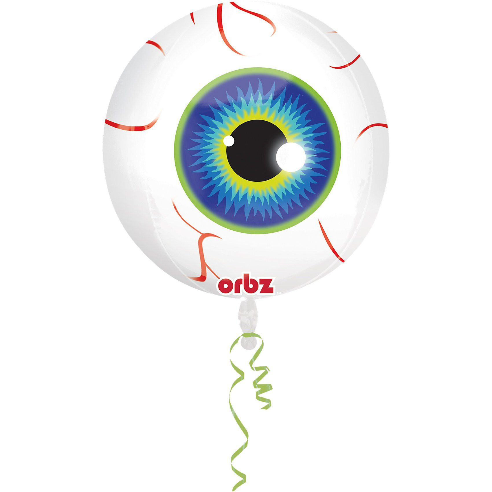 Amscan Folienballon Orbz Auge Halloween Classic
