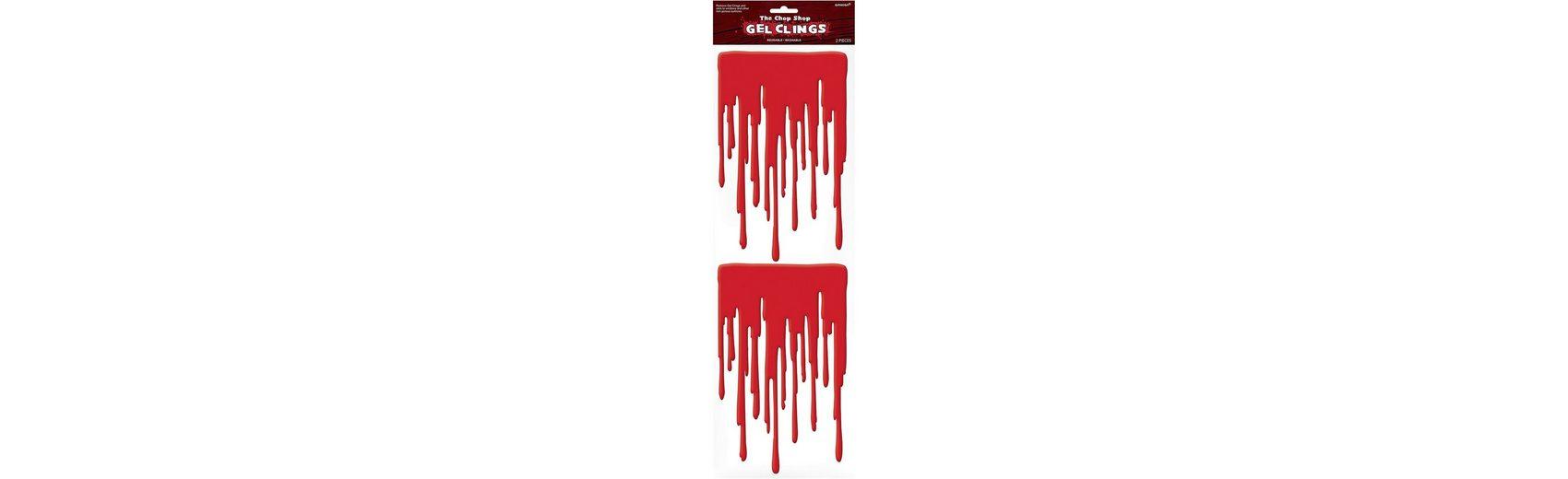 Amscan Gel-Sticker Blut Halloween Sinister Surgery