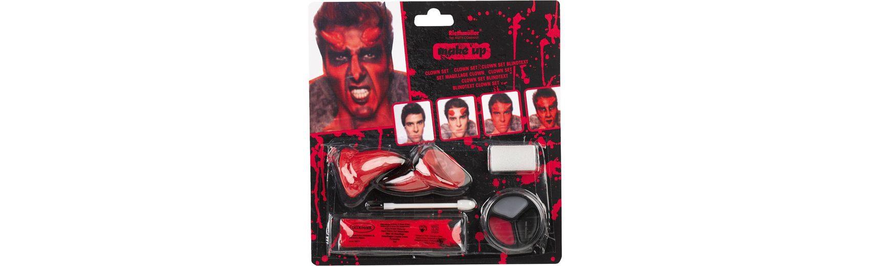 Amscan Make up Teufel Halloween Classic