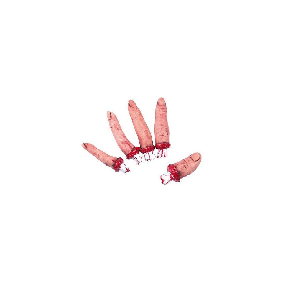 Amscan Blutige Finger Halloween Sinister Surgery, 5-tlg.