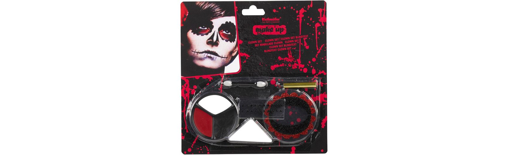 Amscan Make up Halloween Day of the Dead