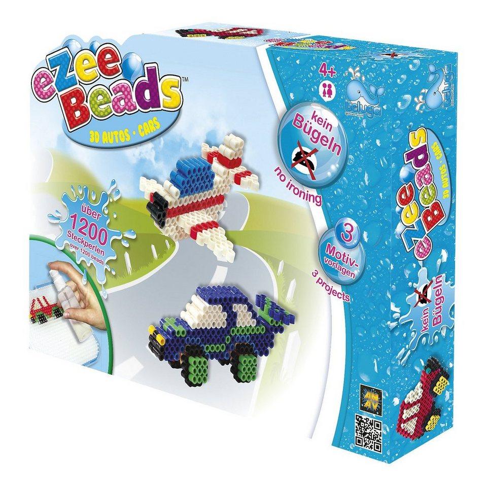Beluga eZee Beads Sprühperlen 3D Fahrzeuge, ca.1200 Perlen