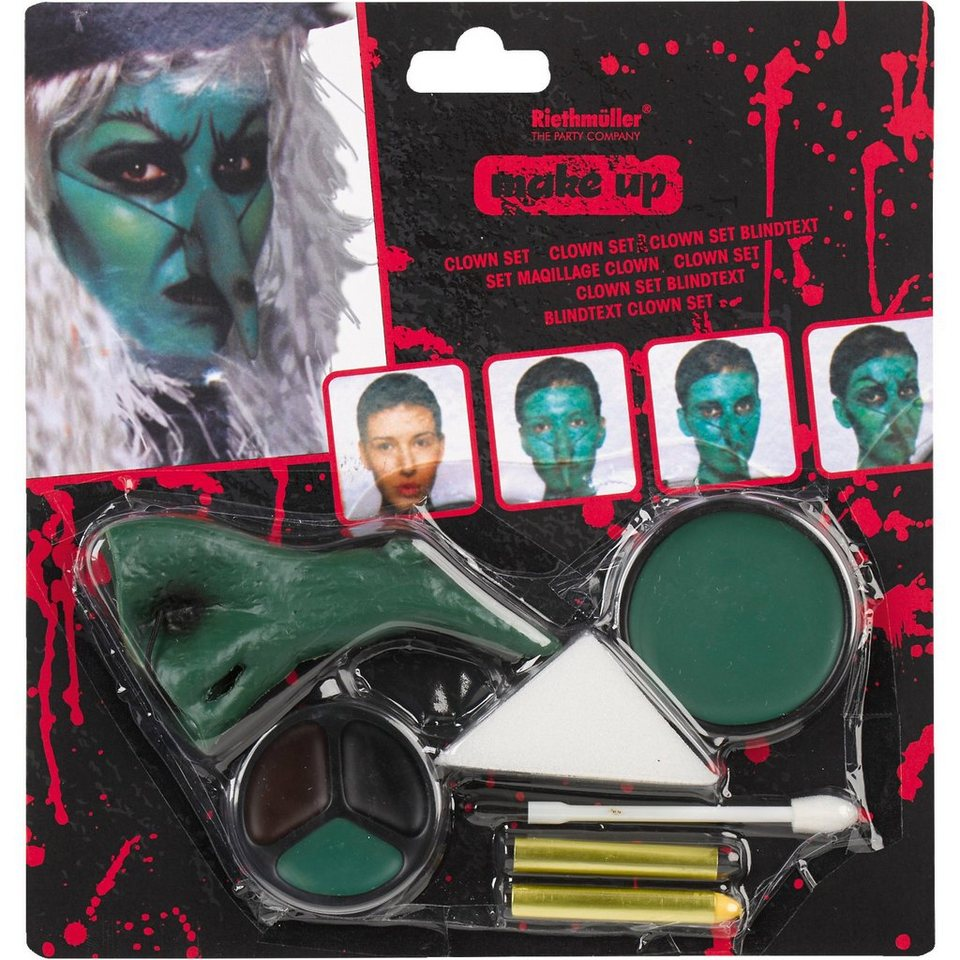 Amscan Make up Hexe Halloween Classic