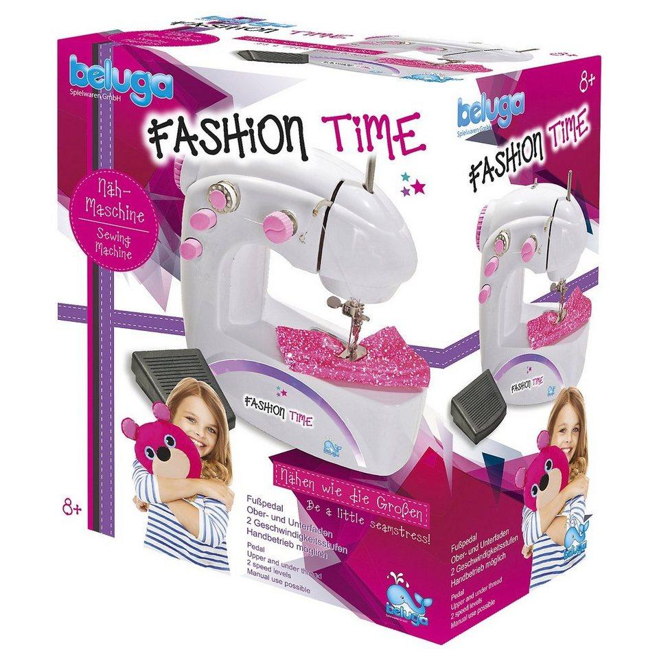 Beluga fashion time Kinder-Nähmaschine