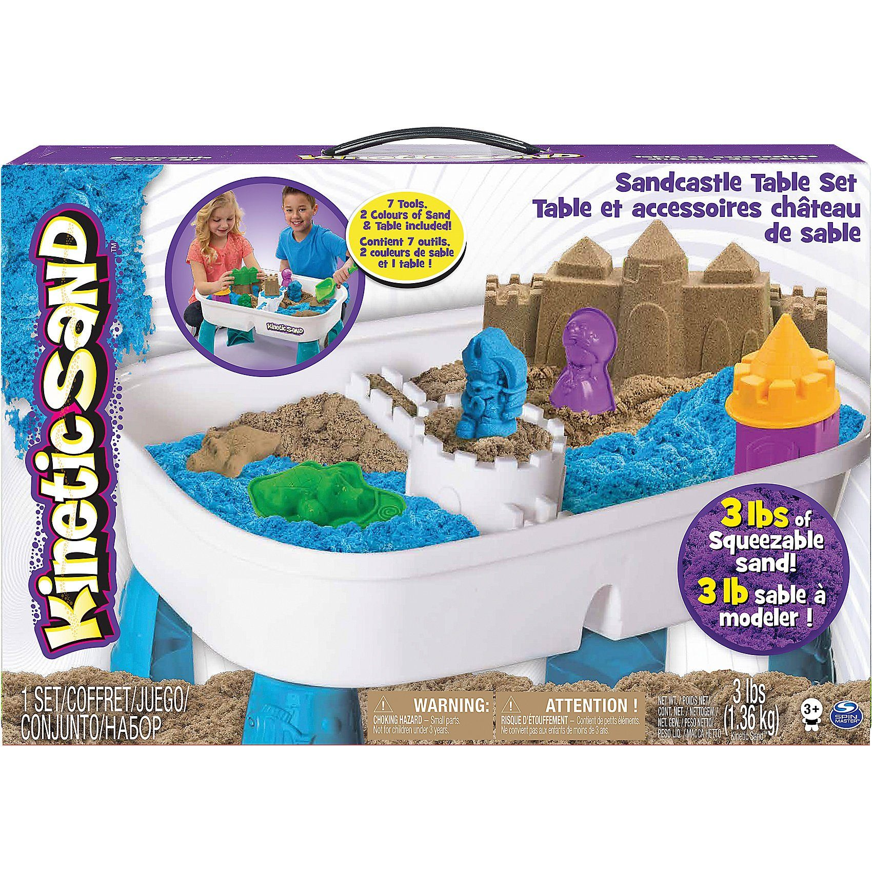 Spin Master Kinetic Sand Tisch