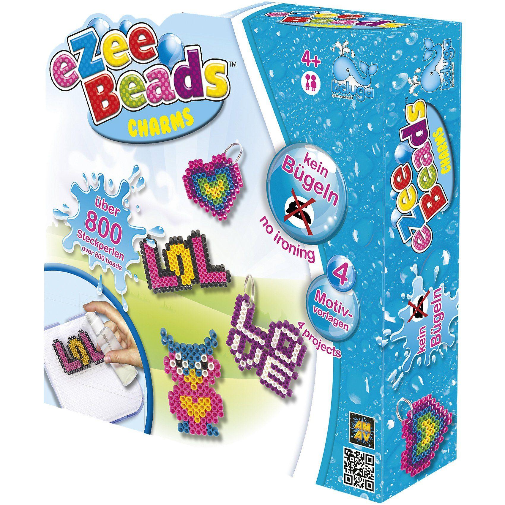 Beluga eZee Beads Sprühperlen Charms, ca. 800 Perlen