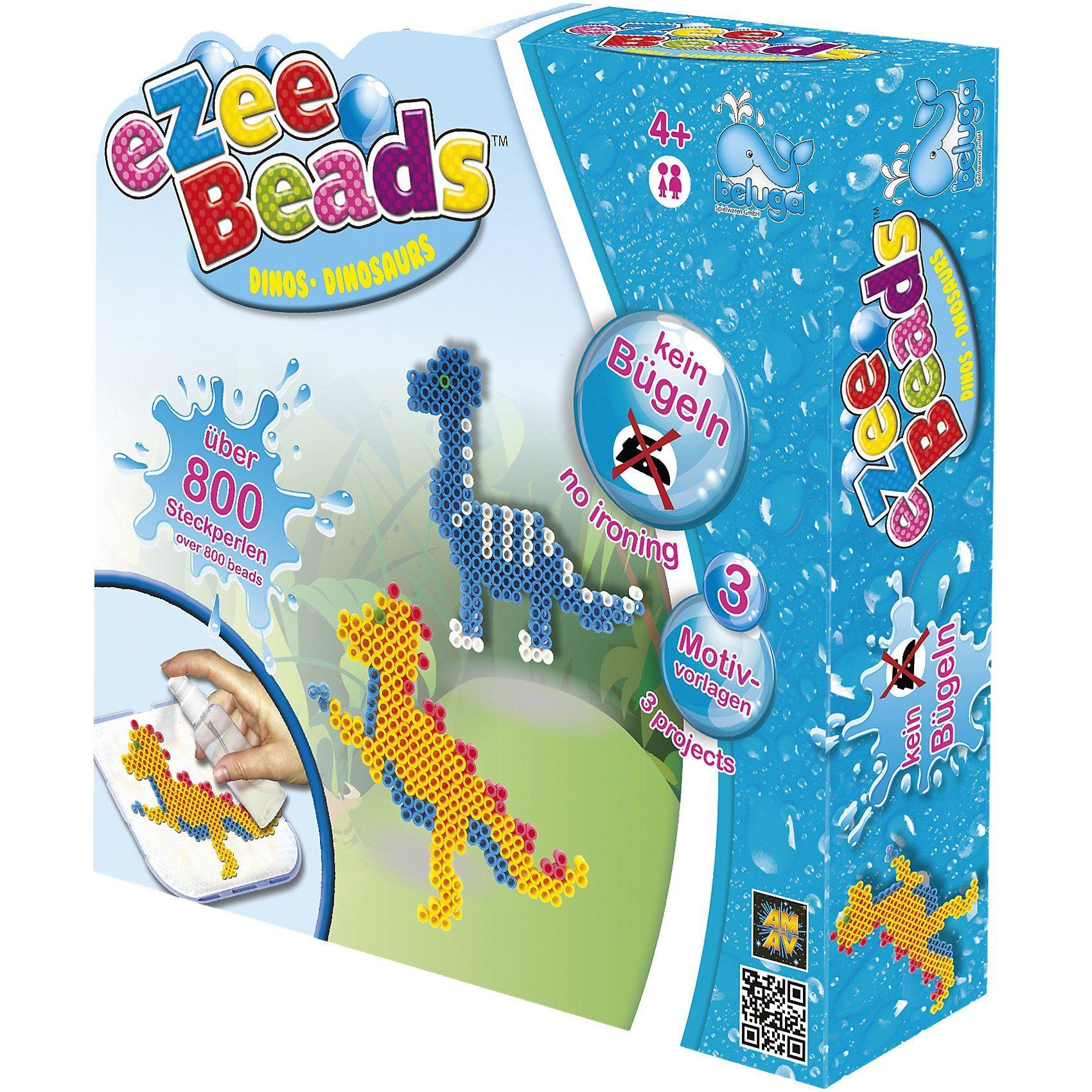 Beluga eZee Beads Sprühperlen Dinos, ca. 800 Perlen