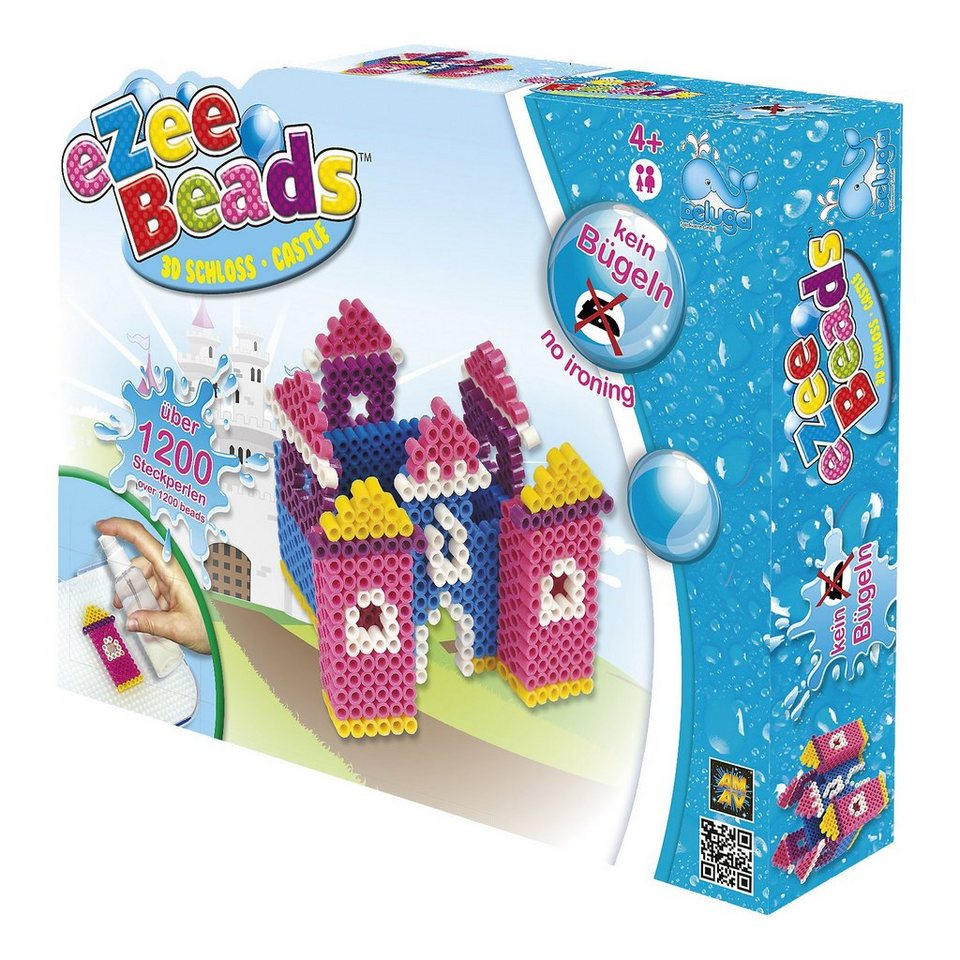 Beluga eZee Beads Sprühperlen 3D Schloss, ca.1200 Perlen