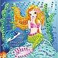 URSUS Moosgummi Mosaik Glitter Meerjungfrau, Bild 1