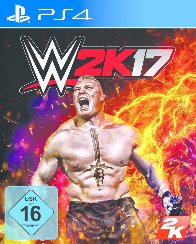 2K Playstation 4 - Spiel »WWE 2K17«
