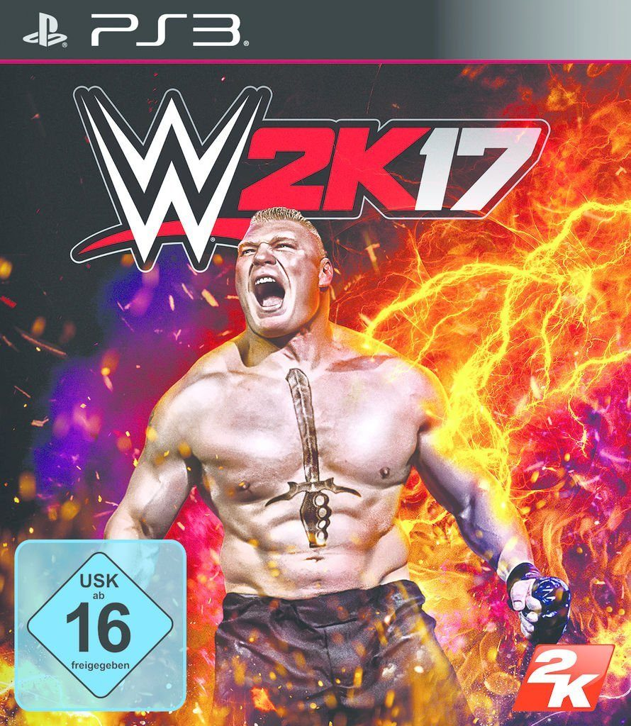 2K Playstation 3 - Spiel »WWE 2K17«