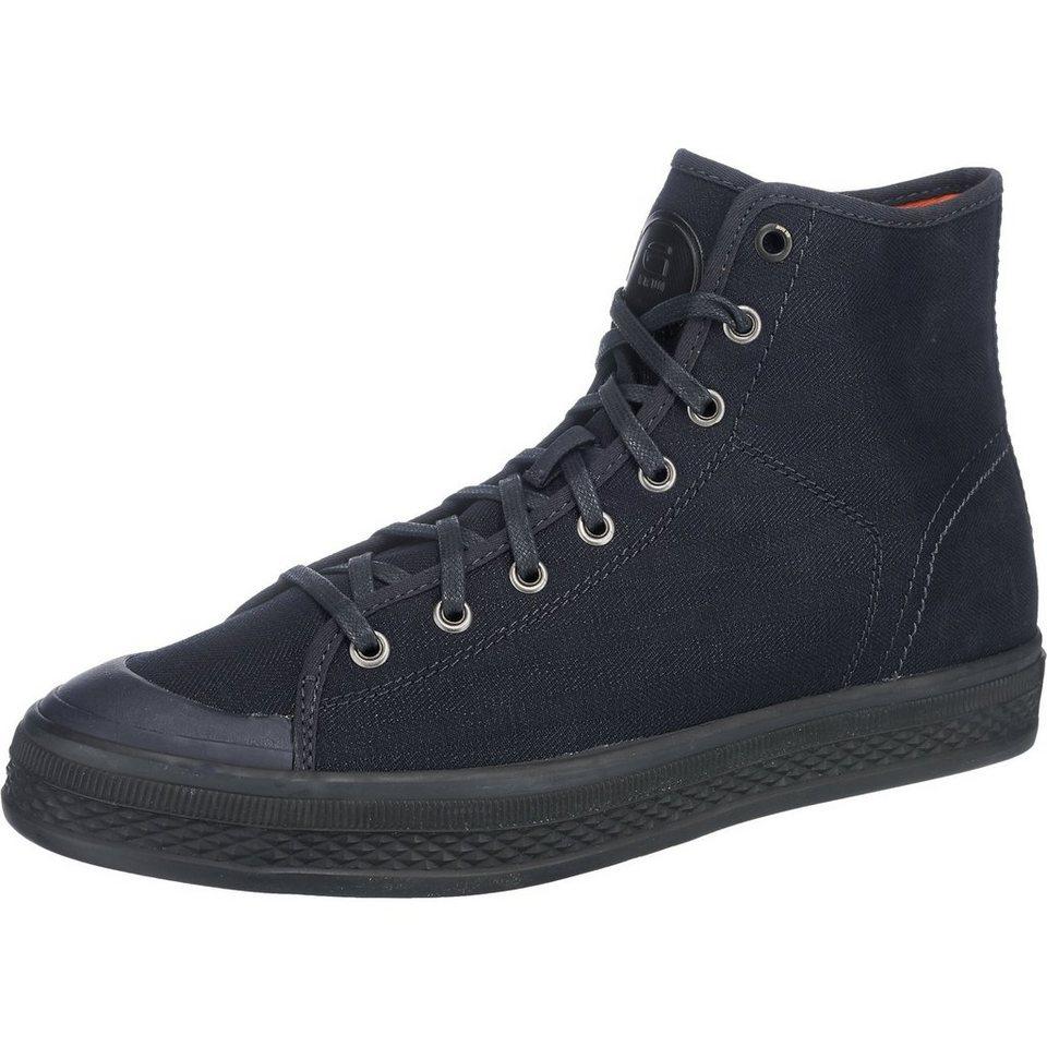 G-STAR Bayton High Denim Sneakers in navy