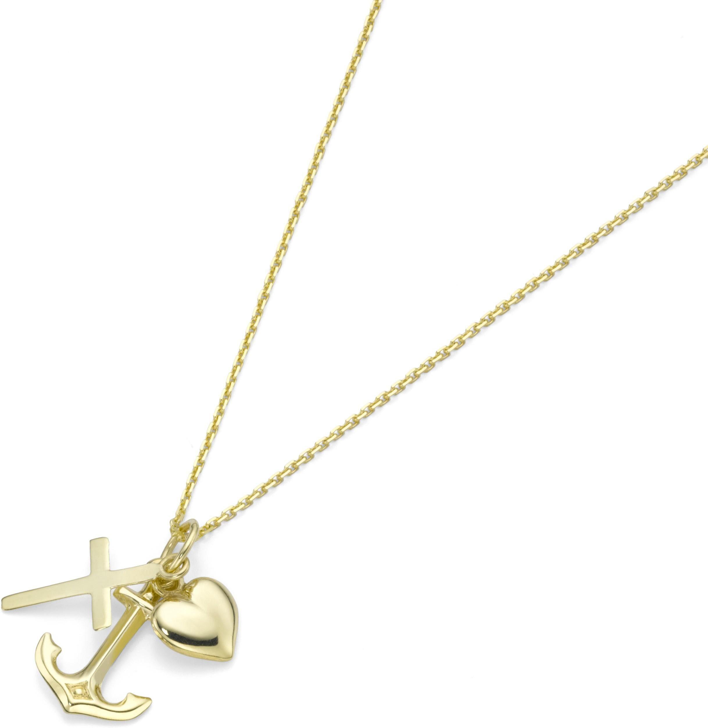 Firetti Kette mit Anhänger »Glaube, Liebe, Hoffnung«