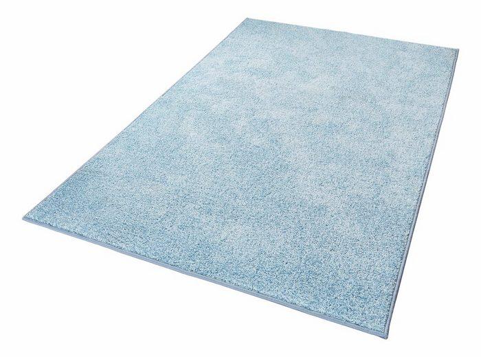 Teppich »Pure 100«, HANSE Home, rechteckig, Höhe 13 mm, Velours