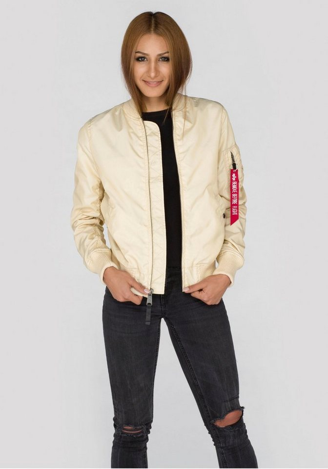 Alpha Industries Bomberjacke »MA-1 TT Wmn« in caramel