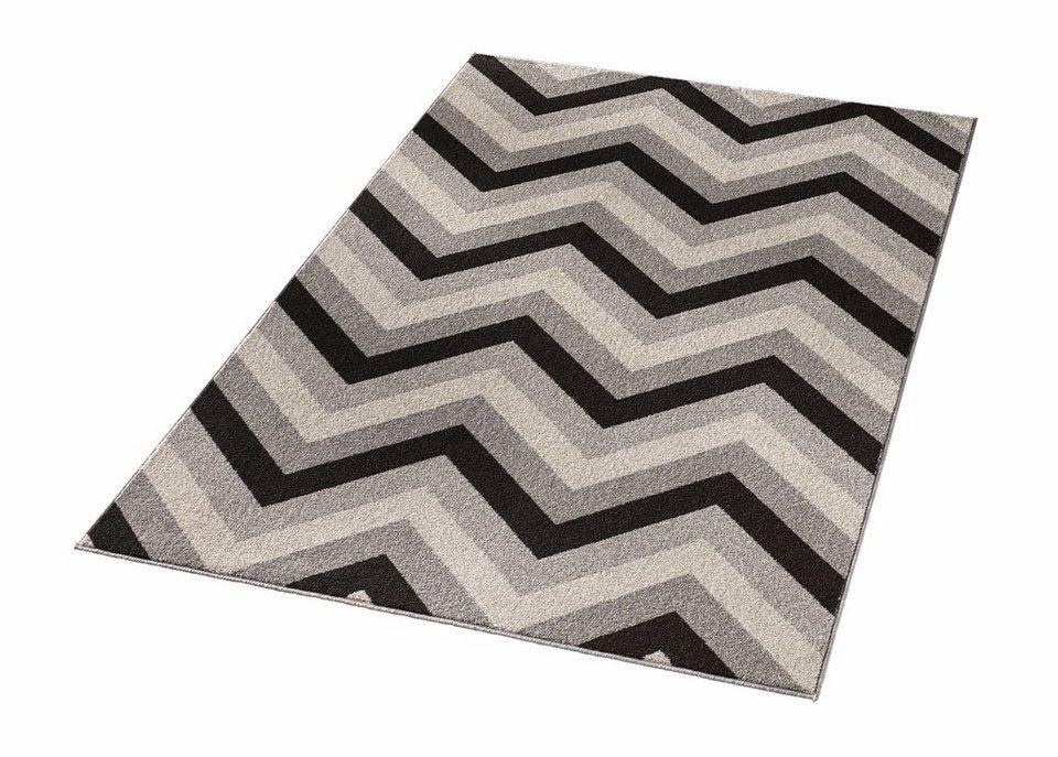 teppich chevron hanse home rechteckig h he 12 mm online kaufen otto