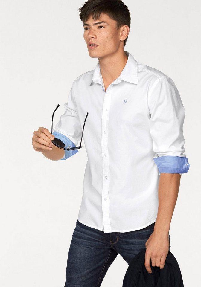 Bruno Banani Hemd in weiß