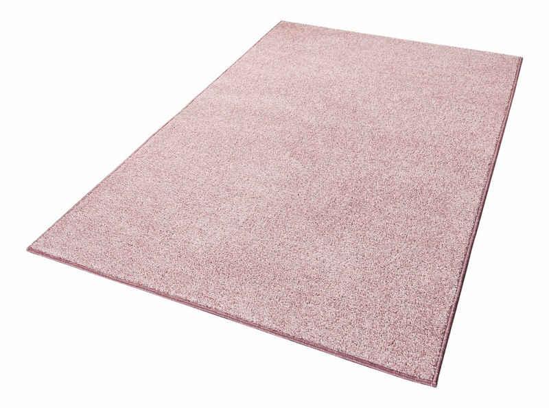 Teppich »Pure 100«, HANSE Home, rechteckig, Höhe 13 mm, Velours Haptik, Wohnzimmer