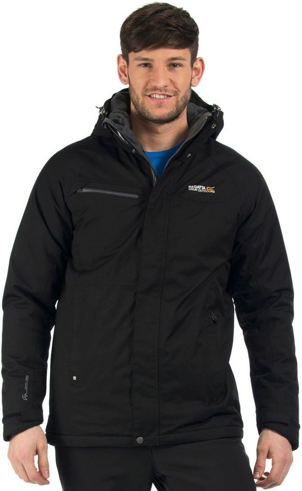 Regatta Outdoorjacke »Highside Jacket Men« in schwarz