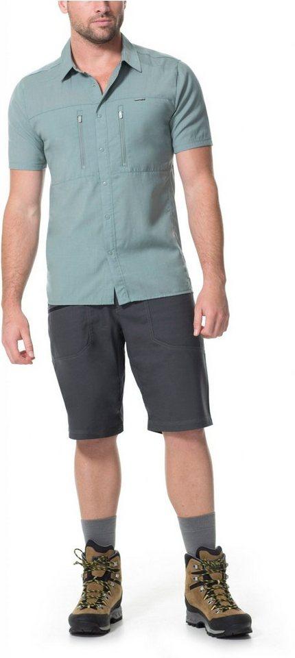 Icebreaker Hemd »Oreti SS Shirt Men« in grau
