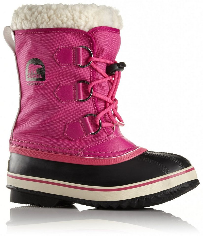 Sorel Stiefel »Yoot Pac Nylon Boots Childrens« in pink