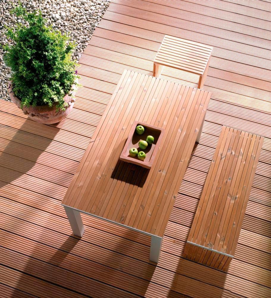 Holz-Terrassendielen »Bangkirai«, 12,21 m²