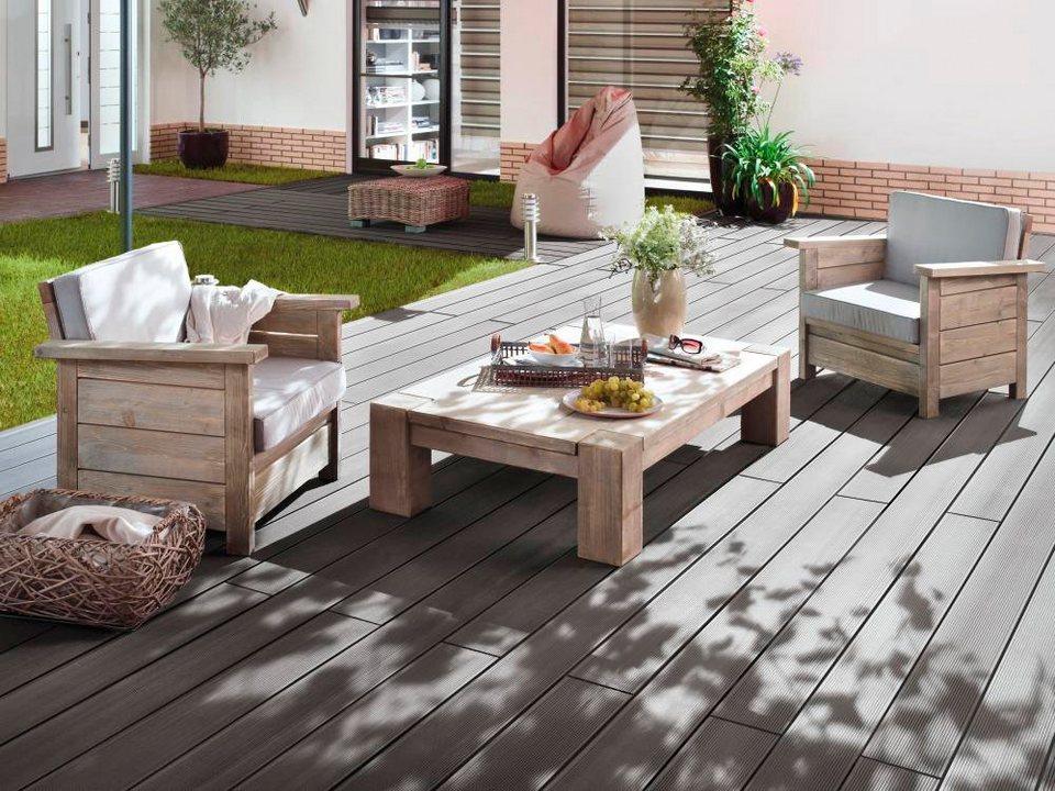 holz terrassendielen multi deck bpc 7 2 m otto. Black Bedroom Furniture Sets. Home Design Ideas