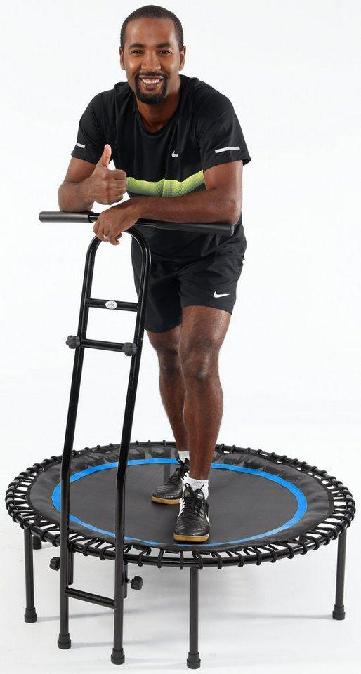 Joka Fit Fitness Trampolin, »Cacau«, schwarz-blau in schwarz-blau