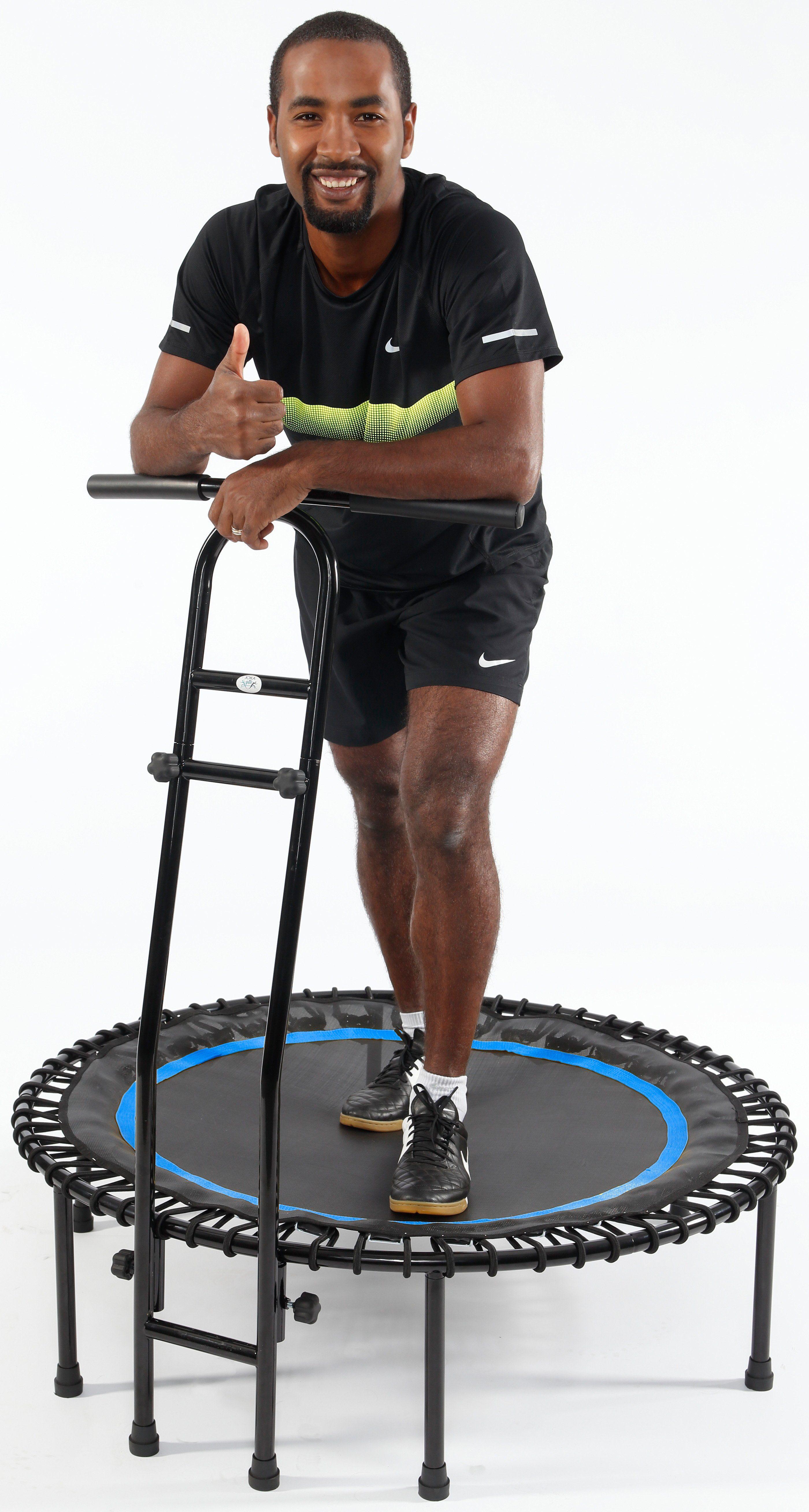 Joka Fit Fitness Trampolin, »Cacau«, schwarz-blau