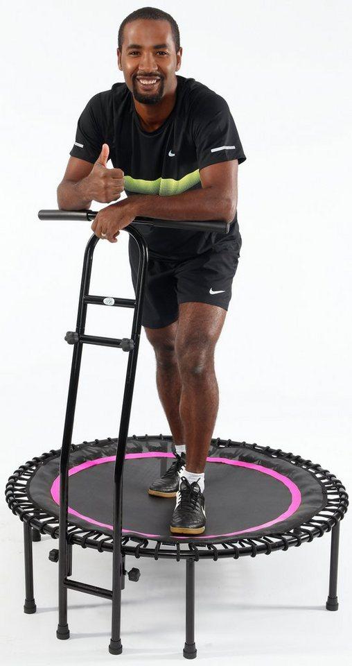 Joka Fit Fitness Trampolin, »Cacau«, schwarz-pink in schwarz-pink