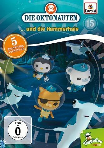 DVD »Die Oktonauten... und die Hammerhaie«