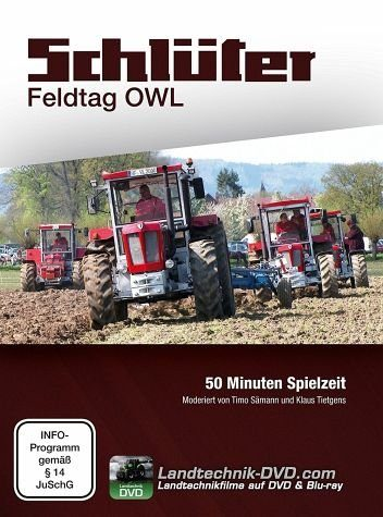 DVD »Schlüter Feldtag OWL, DVD«