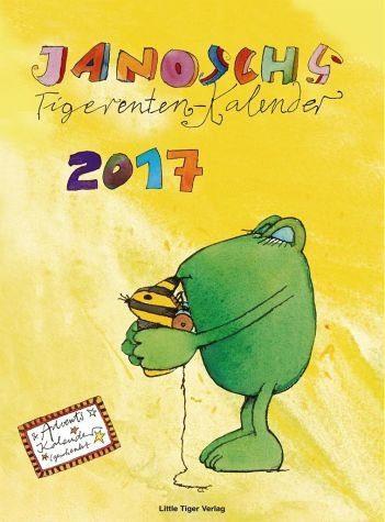 Kalender »Janoschs Tigerentenkalender 2017«