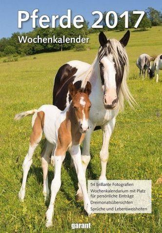 Kalender »Wochenkalender Pferde 2017«