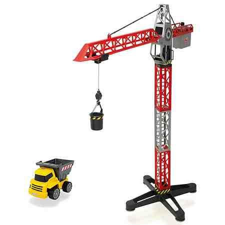 Dickie Spielzeugkran mit Seilwinde, »Building Team«