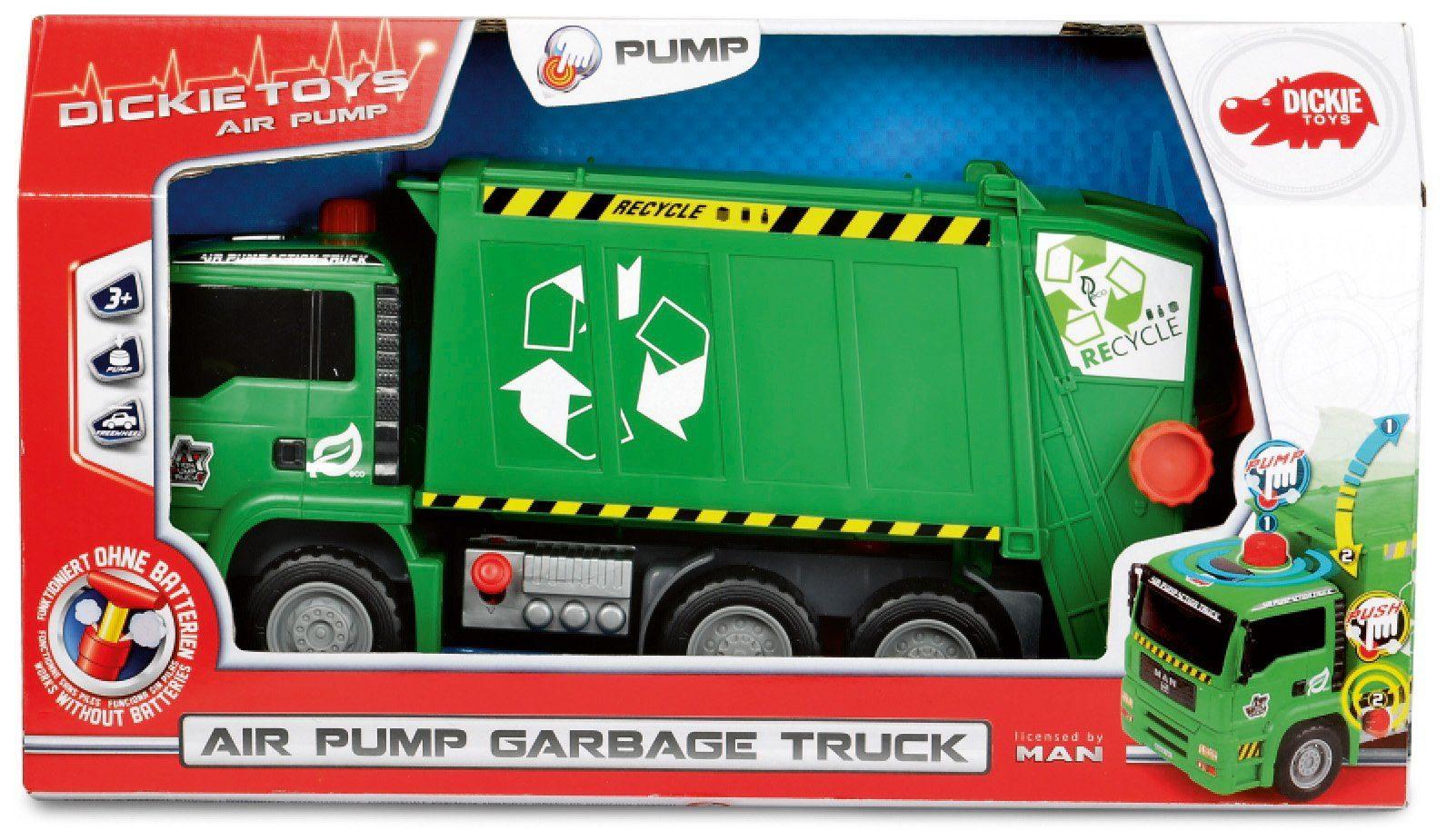 Dickie Toys LKW, »Air Pump Garbage Truck groß«
