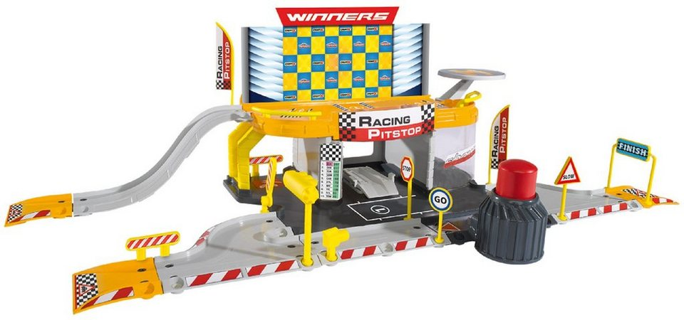 Majorette Auto Spielset, »Creatix Racing Pitstop«